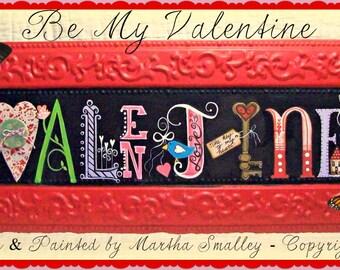 Apple Tree Cottage Original Design E Pattern  -  Be My Valentine