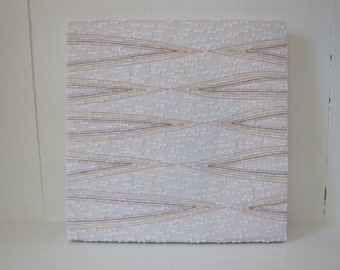 Thread Design Textile Wall Art by Tiny Marie
