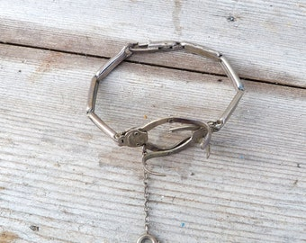 Vintage Antique 1900/1930 bracelet for a removable watch