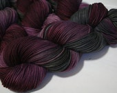 hand dyed yarn - Simple SW DK - Borderline Romance colorway