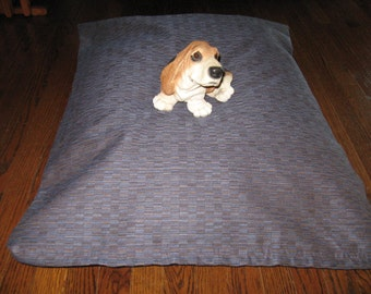 1046 Grape Kroll Design --  Extra Strong and Durable dog bed COVER  Hand Made in USA by toughdogbed