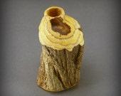 Wood Vase-  Wisteria Vine Weed Vase (WV01)