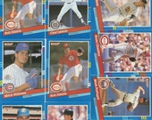 132 Old VINTAGE 1991 DONRUSS BASEBALL Picture Cards