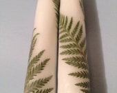"Twirling Ferns Variety - 12"" Candlesticks - Pretty Petals Candles by T. F. Rice"