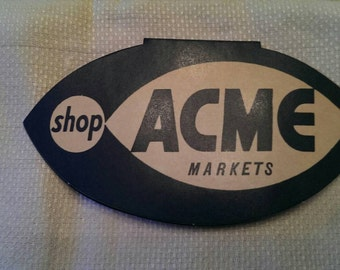 Vintage Acme Paper Sewing Needle Advertising Case West Germany