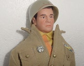 General George S. Patton Military Action Figure 1974  - Original - Like New in Military Uniform -Great