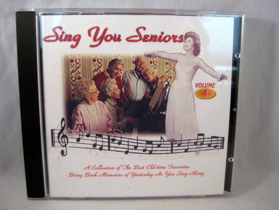 Vol. 1 Sing You Seniors CD Collection of Old Time Favorites to Sing Along to. Piano Music