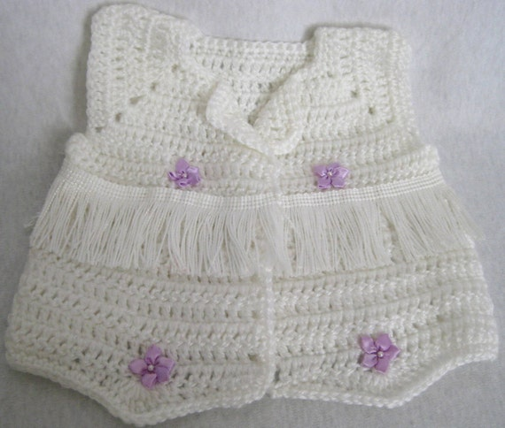 Free Crochet Pattern Baby Cowboy Chaps : Cowboy Crocheted Infant Baby Cowboy Sweater Vest by ...