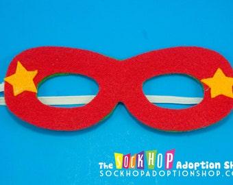 Reversible Super Hero Mask