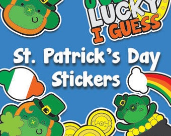 St. Patty's Day Monkey Sticker Pack