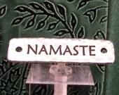 Namaste Link, Antique Silver, TierraCast TS105