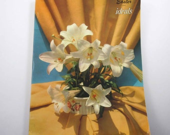 Vintage 1950s Easter Ideals Magazine or Book March 1955