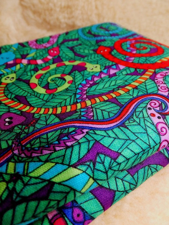 Yard of colorful snakes fabric children 39 s fabric pattern for Vintage childrens fabric by the yard