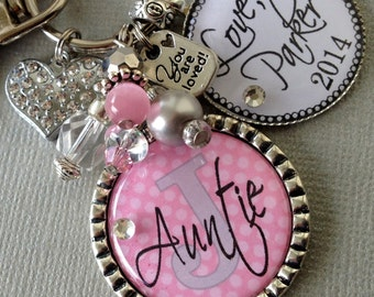 Aunt Gift, Grandma, Mom Keychain, Personalized Children's Names, Nana You are loved, Mother's Day gift, birthday gift aunt gift, sister gift