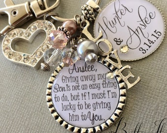 Unique Wedding Gifts For Son And Daughter In Law : Future daughter in law gift, bride heart, giving away my son is not an ...