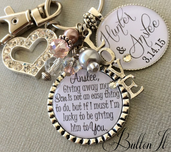 Wedding Gifts For My Son And Daughter In Law : Future daughter in law gift, bride heart, giving away my son is not an ...