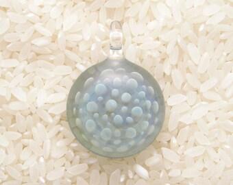 EMBLEM Lampworked Borosilicate Glass Pendant