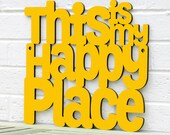 This is my Happy Place MINI sign