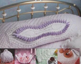 Annies Attic Crochet Antique Pineapples Pattern Leaflet