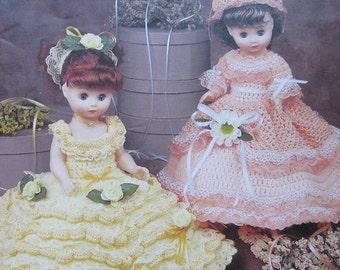 Annies Attic Pretty Precious Doll Dresses Crochet Pattern