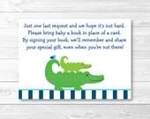 Alligator Book Request Ca...