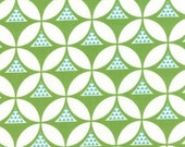 Color Theory--Geo Mod in Lime---1 yard--V and Co for Moda Fabrics