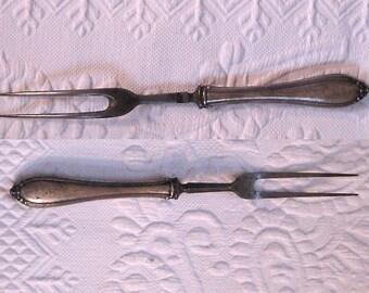 Sterling Serving Fork / Carving Fork