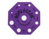 Kumisizer Card for Kumihimo Braid Diameter Measurement
