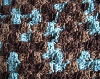 Earth and Sky Crochet Afghan