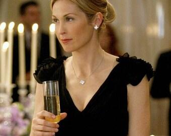 SALE WAS 48.00 Clover Earrings, Clover Studs, Shell Earrings, Gold Earrings, Bridal Earrings - Gold White Mother of Pearl Earrings