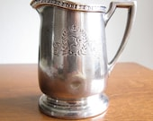 Fontainebleau Hotel Miami Beach vintage silver plated creamer 1950s