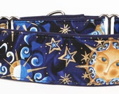 Celestial In Blue Martingale Collar-