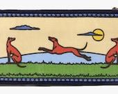 Jane Walker's 1910 Multi Color Martingale Collar-