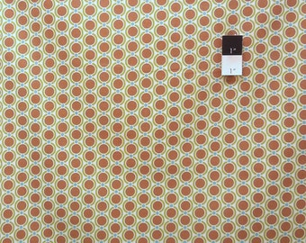 Joel Dewberry JD32 Modern Meadow Acorn Chain Timber Cotton Fabric 1 Yard