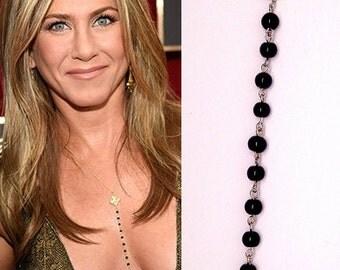 Heart Necklace, Necklace Of Jennifer Aniston,Celebrity Inspired Necklace