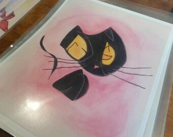 Alice's Cat (II), print