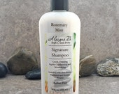 Signature Shampoo - Sulfate Free Hair Care in a Rosemary Mint