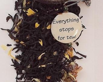 Hazelnut Vanilla, Black Tea, Loose Leaf Tea