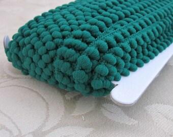 Emerald Green Mini Pompom Trim