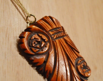Upcycled 1930s Bakelite Aloha Flowers Necklace