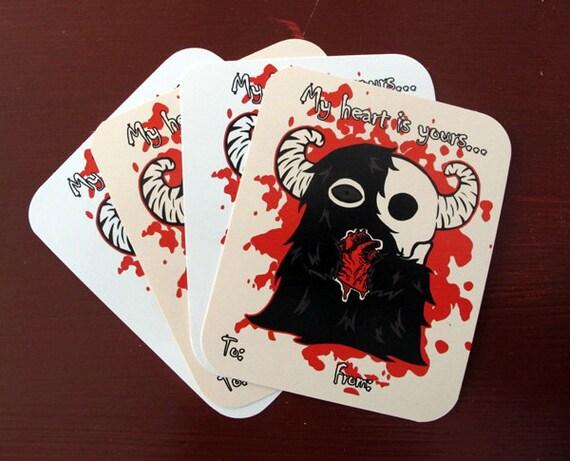 Heart Monster Valentines
