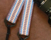 Camera/ Binocular Strap Handwoven from Comfortable Cotton