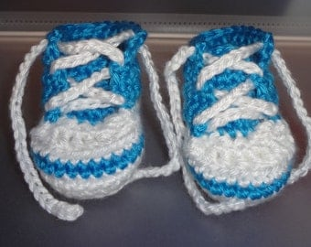 Newborn Shoes, Tennis Shoes, Baby Shoes, made to order