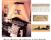 Bed  coronet crown package all included, FREE sheers,
