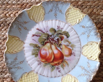 Vintage fruit plate