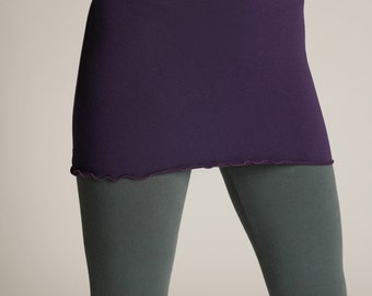 Soy and Organic Cotton Axis Mini Skirt