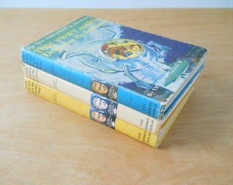 Vintage Tom Swift Books • Trio of Mid Century Victor Appleton Books • 1950s Childrens Books