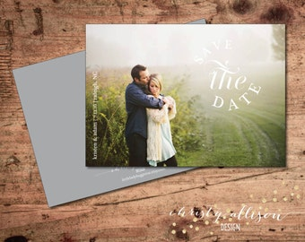 The Circle Save the Date Printable or Printed Card