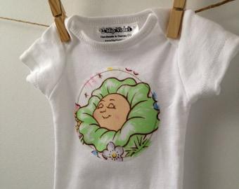 Cabbage Patch Kids Onesie - CPK Baby Bodysuit - 80's Baby Gift - Vintage Cabbage Patch Kid Baby Gift - Available in Newborn, 3m, 6m, 9m, 12m