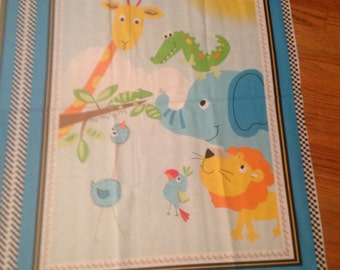 Jungle Animal reversible Quilt